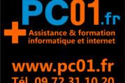 PC01.fr : dépannage et formation informatique à domicile