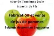 Fabrication et vente de jus de pomme