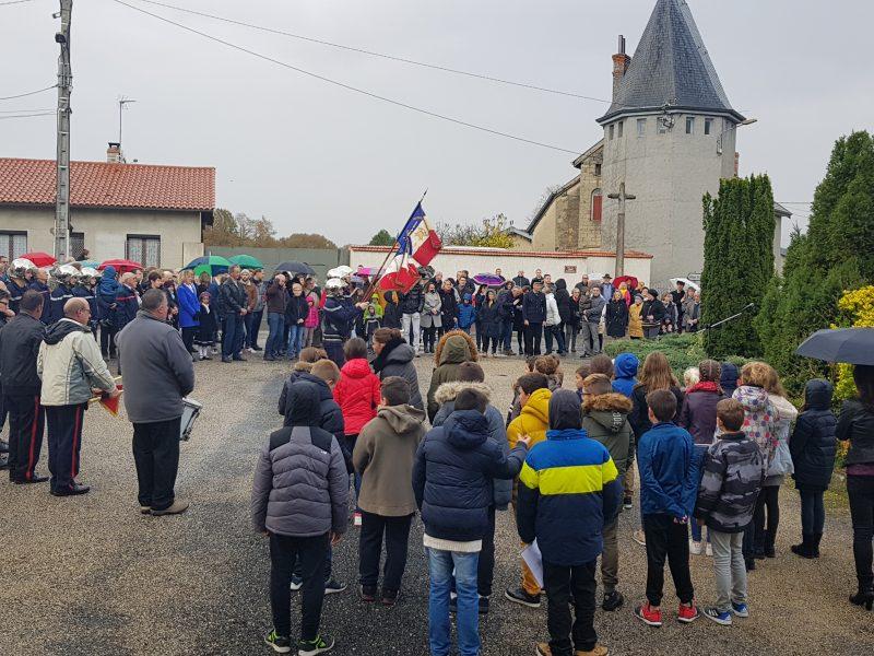 Les Dompierrois se sont déplacés en nombre pour rendre hommage à leurs aînés