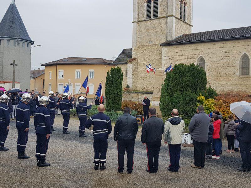 """Le Maire Jean Bérard rend hommage aux """"Poilus"""""""