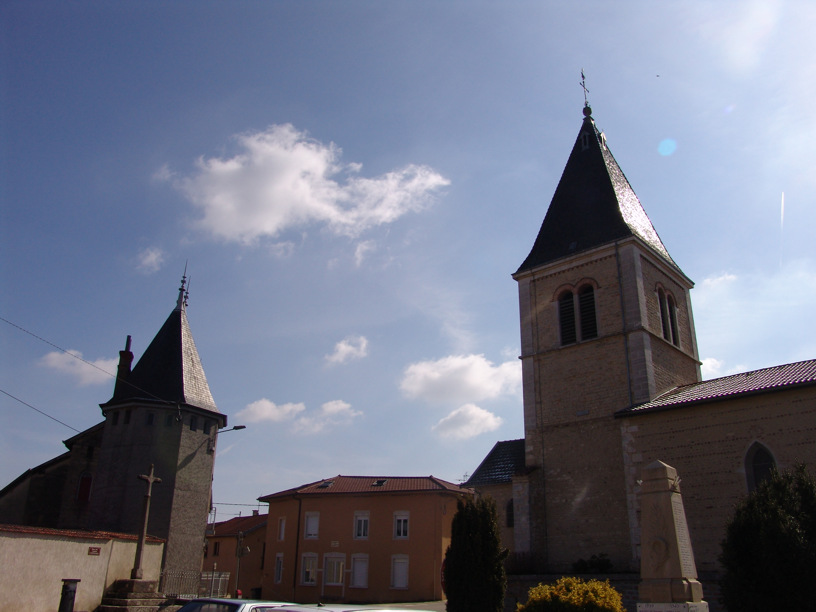 L'église de Dompierre