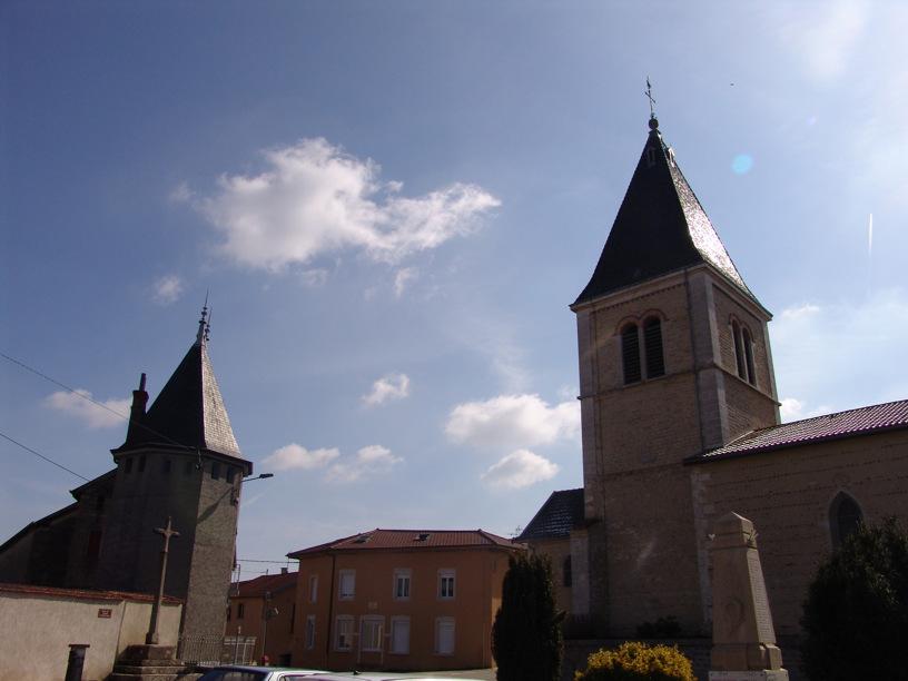 L'église de Dompierre