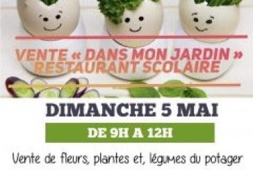 Rappel : Dimanche 05 mai, vente fleurs, plantes et plants de légumes