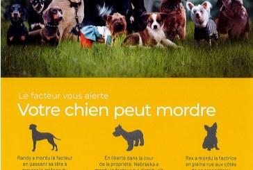 Information pour lutter contre les agressions canines envers les facteurs