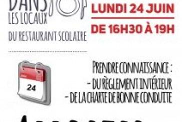 Inscriptions Restaurant scolaire année 2019/2020