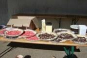 Vente de tartes du restaurant scolaire