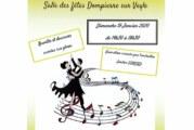 Thé dansant de l'association Gym'Dompierre le 19 janvier