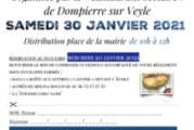Tartiflette et fondant chocolat maison du Restaurant Scolaire