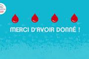 Merci aux donneurs de sang bénévoles