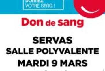 DON DE SANG 9 MARS 2021